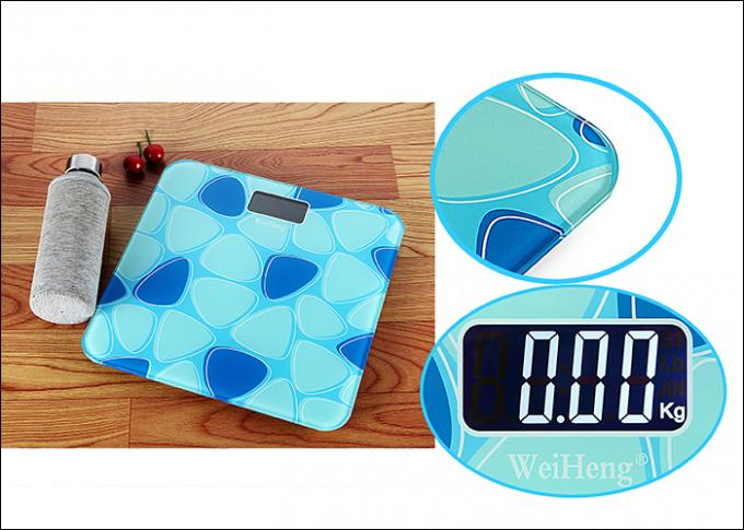 Home Use Electronic Bathroom Scales With Smooth Round Corners / Sides