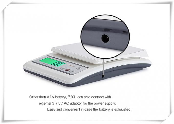 0.1g Increment Food Measuring Scale Equips Big Size Weighing Platform