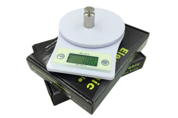 19.8x14x5CM High Precision Kitchen Scale Large Capacity With ABS Sheel