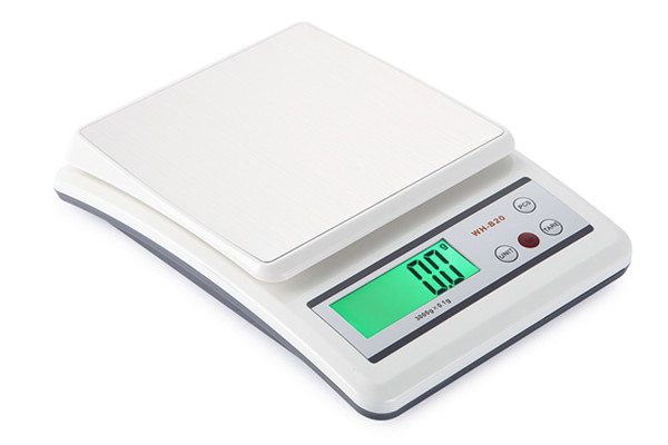 3KG Precision Electronic Kitchen Scales Easy Cleaning With Counting Function