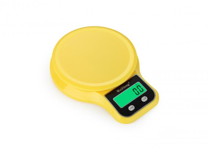Vegetable Food Electronic Kitchen Scales , Abs Plastic Portable Kitchen Scale For Household