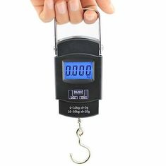 China Tare Function LCD Digital Luggage Scale With Over Load Indication supplier