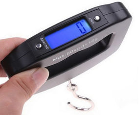 China Belt Type Hand Scale For Luggage , ABS Plastic Luggage Measuring Scale supplier