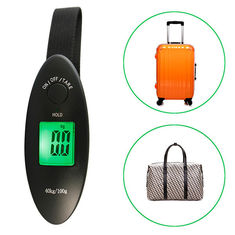 China 100g 40kg Travel Digital Scale Low Battery Indication For Weighing Luggage supplier