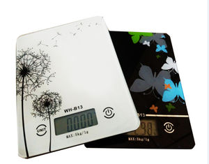 China Big LCD Kitchen Electronic Scales , ABS Plastic Digital Scale For Food supplier