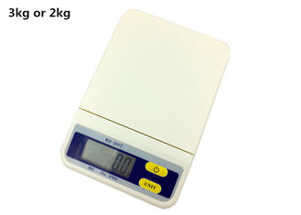 China 0.5g / 0.1g Division Electronic Kitchen Scales With ABS Engineer Plastic supplier