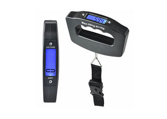 China Hook Type Digital Luggage Scale , Comfortable Handle Suitcase Weighing Scales supplier