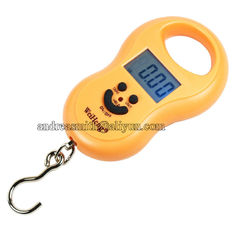China ABS Plastic Hanging Gram Scale , Units Conversion Handheld Luggage Scale supplier