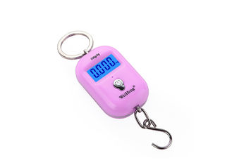 China LCD Hook Home Electronic Scale / KG LB Unit Portable Digital Luggage Scale supplier