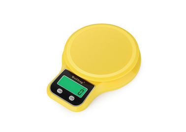 China Vegetable Food Electronic Kitchen Scales , Abs Plastic Portable Kitchen Scale For Household supplier