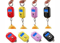 Red Pink Yellow Mini Portable Electronic Luggage Scale 25 Kg Colorful Gift Items