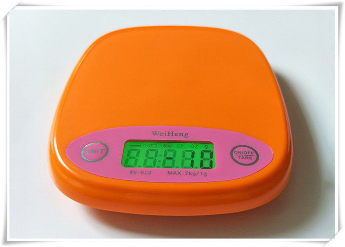 Compact Design Digital Kitchen Weighing Scale 1 Gram Division