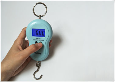 China Round Wide Handle LCD Digital Luggage Scale With 120 Seconds Auto Shut Down Function factory