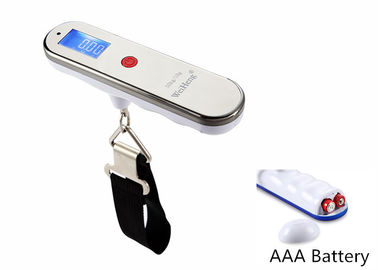 50kg Capacity LCD Digital Luggage Scale AAA Battery For Power