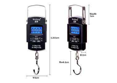 Flexible Handle Hanging Gram Scale , Blue Backlit Hanging Weight Scale