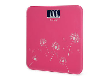 6MM Tempered Glass Platform Accurate Bathroom Scales For Hotel And Home Use