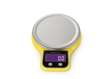 5 Kg Stainless Steel Platform Digital Kitchen Weighing Scale With HD LCD Display