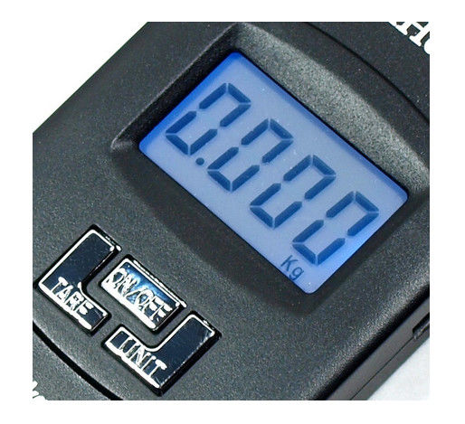 Tare Function LCD Digital Luggage Scale With Over Load Indication